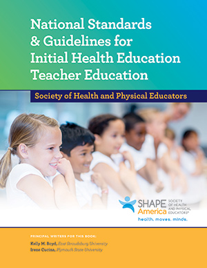National Standards & Guidelines for Initial Health Educationbook cover
